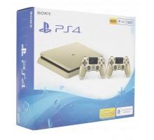 Игровая приставка PlayStation 4 Slim (золото)